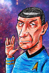 Farewell, Mr. Spock by Kubi-Wan