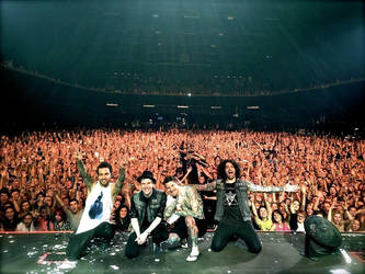 Fall Out Boy in Russia by R-Clandestin