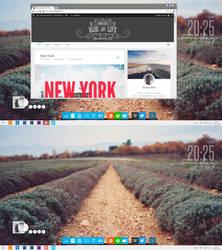 My desktop 20/06/14 by R-Clandestin