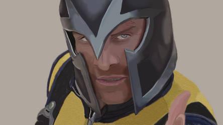 Magneto by Hughesyy