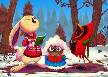 2014 Holiday Card by doingwell