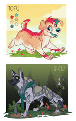 Tofu and Siku by doingwell