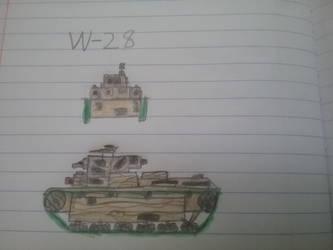 The W-28 by neinudoit