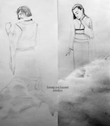 Izanagi and Izanami by Aldedron