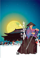 TOKIO SAMURAI VECTOR by Rockfield