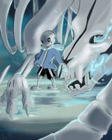 Sans final battle by surprisewolf