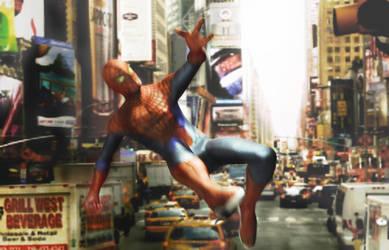 amazing spiderman by kongrats1