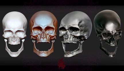 Skull by zzytudou