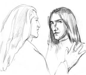 Severus and Lucius by Natell