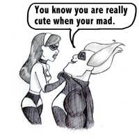 Cute When Mad by Fox-Fairy-99