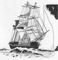 Dutch ship of the line Koning der Nederlanden by roodbaard1958