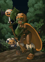 Dofus Halloween Contest by meli