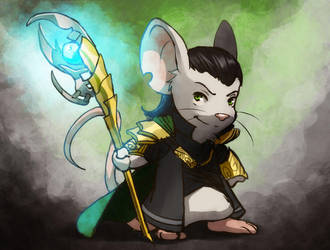 Loki mouse by meli