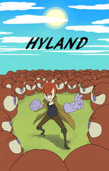 Hyland Cover 2: Virgil vs Eyeball Army by TheDoodleOnThePage
