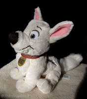 Disney Tote A Tail Bolt Plush by The-Toy-Chest