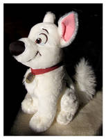 Disney Store - Medium Sitting Bolt Plush by The-Toy-Chest