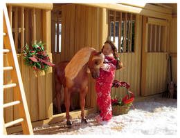 Breyer - Pony For Christmas by The-Toy-Chest