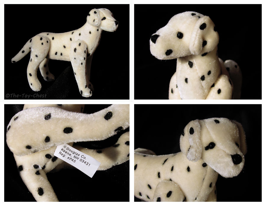 Douglas Cuddle Toys Jointed Mini Dalmatian Plush By The Toy Chest