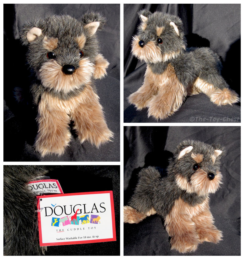 Douglas Small Floppy Dogs Camilla Yorkie By The Toy Chest On