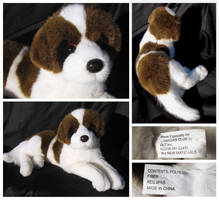 Douglas Cuddle Toys - Canadian Club St. Bernard by The-Toy-Chest