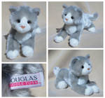 Douglas Small Floppy Cats - Izzy Grey Cat by The-Toy-Chest