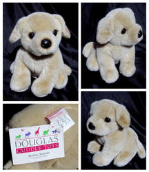 Douglas Cuddle Toys - Bud Yellow Lab Pup by The-Toy-Chest