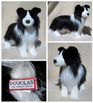 Douglas Cuddle Toys - Ellie Border Collie by The-Toy-Chest