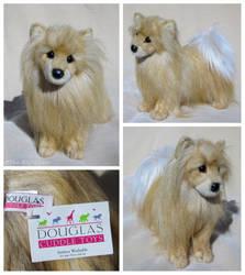 Douglas Cuddle Toys - Benita Pomeranian by The-Toy-Chest