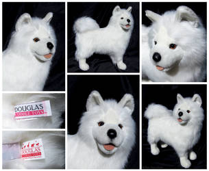 Douglas Cuddle Toys - Snowden Samoyed by The-Toy-Chest
