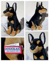 Douglas Cuddle Toys - Apollo Doberman Pinscher by The-Toy-Chest