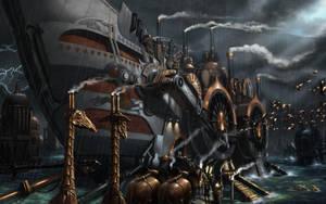 Noah's Ark by loboto