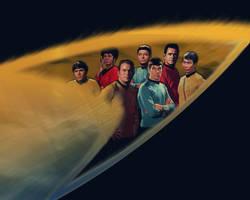 Star Trek TOS Crew by TheAngryAngel