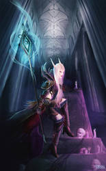 World of Warcraft: Silent Wrath of the Blood by KristinaToxicpanda