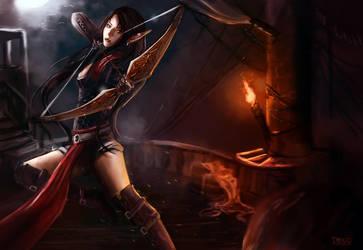 CM: Midnight Assassin by KristinaToxicpanda