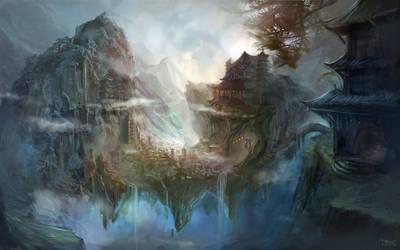 Temple of Gods by KristinaToxicpanda