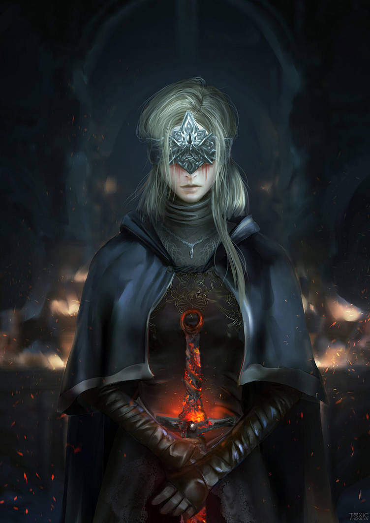 Fire Keeper - Dark Souls by KristinaToxicpanda