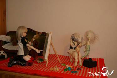 Little Artist by Tochibi