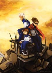 Inazuma Eleven: Break Trio by Pompi