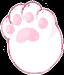 F2u Kitty Cat Paw by VioletCascade