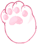 F2u Kitty Cat Paw by VioletCascade