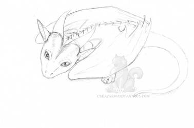 Little Dragon by CSKazaam