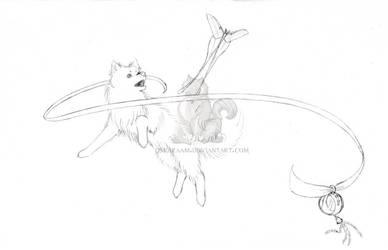 Ikiyou the Birthday Dog! by CSKazaam
