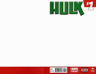 Blank Cover - Hulk by RichardJPG