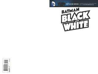 Blank Cover - Batman Black White by RichardJPG