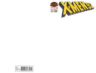 Blank Cover - X-Men 92 by RichardJPG