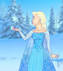 The Cold Never Bothered Me Anyway by bee97