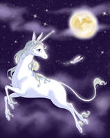The Last Unicorn by kittendrumstick
