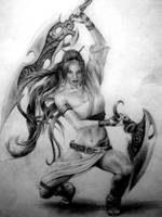 Heavenly Sword by Slightly-Spartan