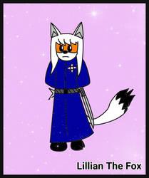Lillian The Fox (OC)[DarkTails-X] by DarkTails-X