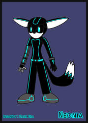Neonia (FC)[Dark Tails-X] by DarkTails-X